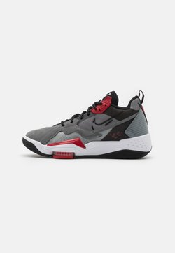 Jordan - ZOOM '92 - Sneakersy wysokie - smoke grey/black/gym red/white