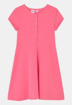 GAP - GIRL  - Jerseykleid - neon pink rose