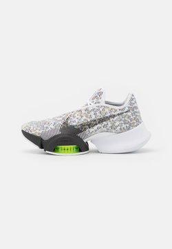 Nike Performance - AIR ZOOM SUPERREP 2 - Kuntoilukengät - white/black/volt/chutney