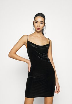 Miss Selfridge - CAMI STRAP MINI - Cocktail dress / Party dress - black