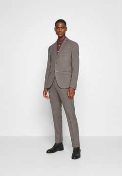 Isaac Dewhirst - BOLD VINTAGE CHECK SUIT - Anzug - red check