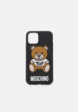 MOSCHINO - IPHONE 11 PRO UNISEX - Kännykkäpussi - black