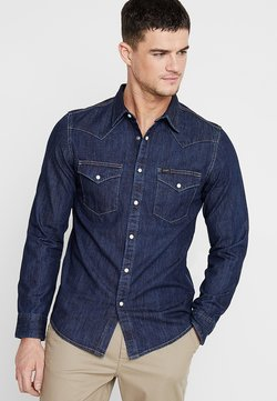 Lee - WESTERN - Shirt - blue