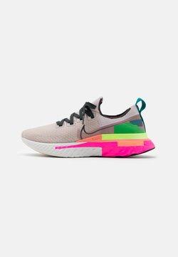 Nike Performance - REACT INFINITY RUN FK PRM - Zapatillas de running neutras - violet ash/dark smoke grey/pink blast