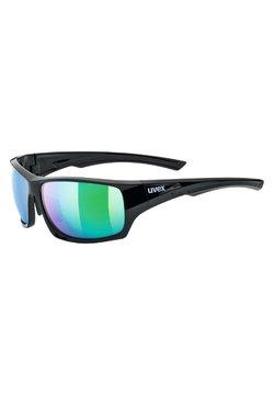 Uvex - pola - Sportbrille - black/green
