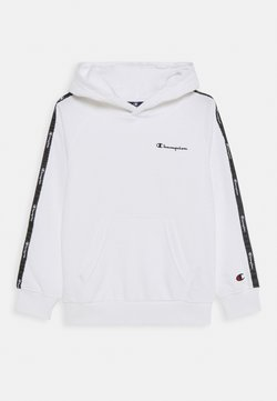 Champion - LEGACY AMERICAN TAPE HOODED UNISEX - Luvtröja - white