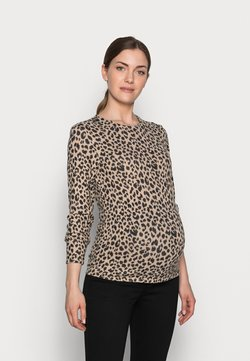 Pieces Maternity - PCMPOLLY - Trui - warm taupe