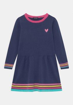 Blue Seven - KIDS GIRLS DRESS, - Strickkleid - blau