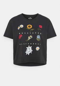 Hollister Co. - T-Shirt print - phantom black