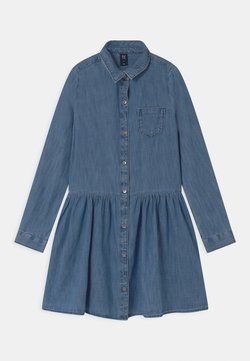 GAP - GIRLS - Jeanskleid - blue denim
