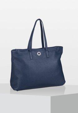 Mandarina Duck - MELLOW  - Shopping Bag - dark blue