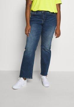 JUNAROSE - by VERO MODA - JRTEN ST FAISA MB - Straight leg jeans - medium blue denim