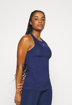 Nike Performance - TANK ALL OVER  - Tekninen urheilupaita - binary blue/white