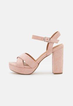 Refresh - Korkeakorkoiset sandaalit - nude