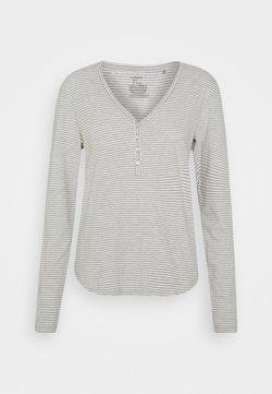 Lindex - NIGHT ANNELIE - Nachtwäsche Shirt - light grey melange