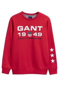 GANT - Collegepaita - bright red