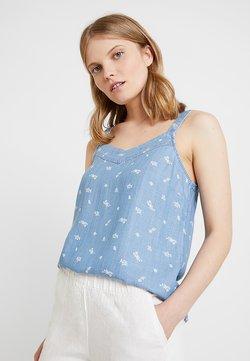 edc by Esprit - KNOT - Blouse - blue light wash