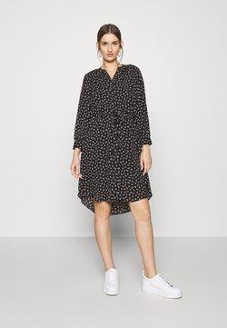 Selected Femme - SFDAMINA DRESS  - Blusenkleid - black