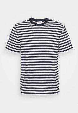 Wood Wood - SAMI CLASSIC STRIPE - T-Shirt print - navy
