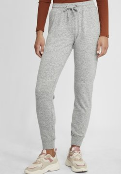Oxmo - BENITA - Jogginghose - light grey melange
