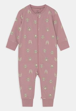 Lindex - MOUSE AT BACK UNISEX - Pijama - dusty pink