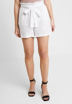 NA-KD - BLEND PAPER BAG - Shorts - white