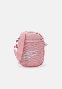 Nike Sportswear - HERITAGE UNISEX - Umhängetasche - pink glaze/white