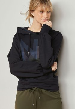 Next - GRAPHIC  - Kapuzenpullover - mottled royal blue