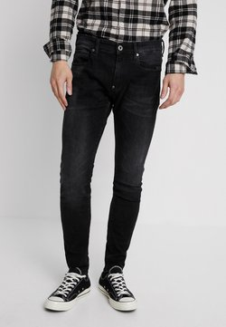 G-Star - REVEND SKINNY - Jean slim - black denim