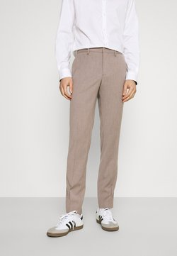 Selected Homme - SLHSLIM-MYLOBILL STRUCTURE - Pantaloni - sand