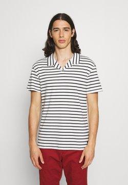 Jack & Jones PREMIUM - JPRBLARETRO RESORT STRIPE - T-Shirt print - black