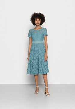 Esprit Collection - Cocktailkleid/festliches Kleid - dark turquoise