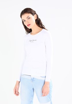 Pepe Jeans - NEW VIRGINIA  - T-shirt à manches longues - white
