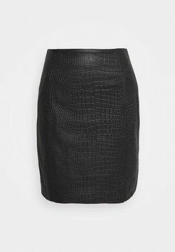 YAS - YASIRINA SKIRT - Mini skirt - black