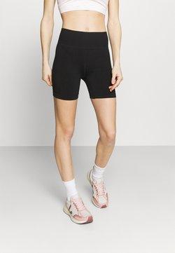 Cotton On Body - LIFESTYLE SEAMLESS YOGA SHORT - Collants - black