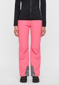 J.LINDEBERG - SKIHOSE TRUULI 2L - Stoffhose - hot pink