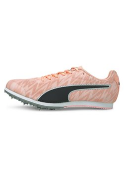 Puma - EVOSPEED STAR - Spikes - elektro peach-black-silver
