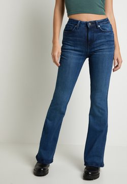 Pepe Jeans - DUA LIPA X PEPE JEANS - Flared Jeans - dark blue