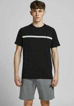 Jack & Jones - FUNKTIONSSHIRT PERFORMANCE - T-Shirt print - black
