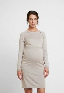 Esprit Maternity - DRESS - Gebreide jurk - camel