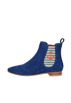 Crickit - CHELSEA BOOT TILDA CHELSEA BOOT MIT STREIFEN UND ANKER - Ankle Boot - blau