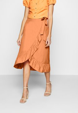 EDITED - ISABEAU SKIRT - Jupe portefeuille - bird of paradise