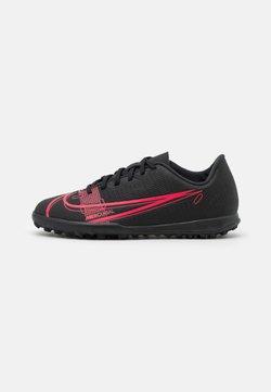 Nike Performance - JR MERCURIAL VAPOR 14 CLUB TF UNISEX - Voetbalschoenen voor kunstgras - black/cyber