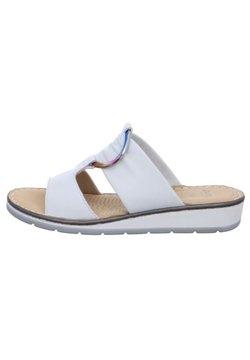 ara - Pantolette flach - weiß