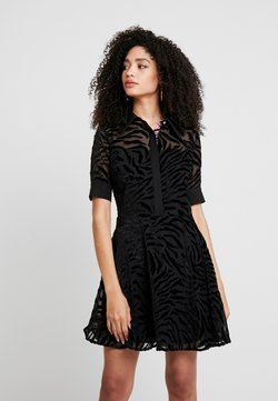 Guess - ARA DRESS - Skjortekjole - jet black