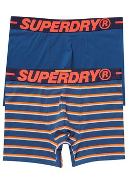 Superdry - 2 PACK - Shorty - blau