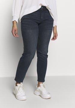 MY TRUE ME TOM TAILOR - BASIC LEG - Jeans Slim Fit - used dark stone
