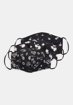 Even&Odd - 3 PACK - Stoffmaske - black/multi