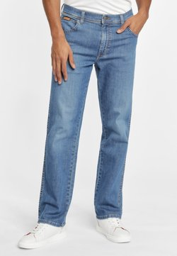 Wrangler - TEXAS - Jeans a sigaretta - mistral green