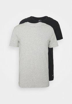 Nike Underwear - CREW NECK 2 PACK - Camiseta interior - grey